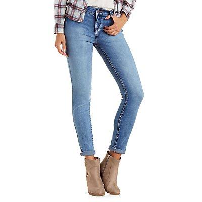 "Refuge ""Push Up Legging""  Medium Wash Jeans"