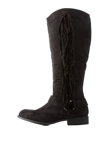 Women's Fringed Western Boots