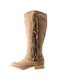 Fringed Western Boots