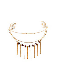 Bead & Chains Hair Combs