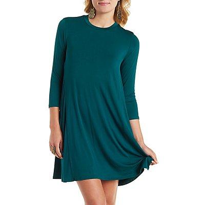 Trapeze Shift T-Shirt Dress