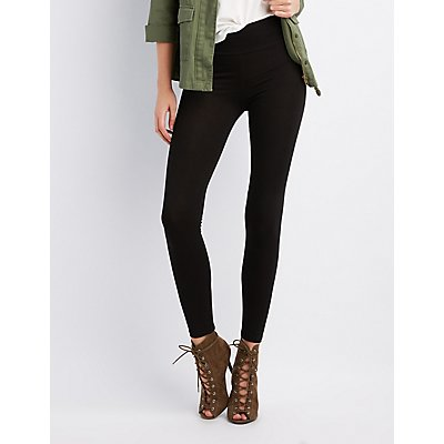 Leggings: High-Waisted, Cropped & Ankle | Charlotte Russe