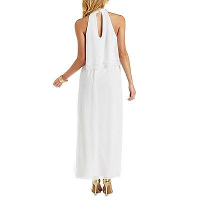 Flutter Top Maxi Dress