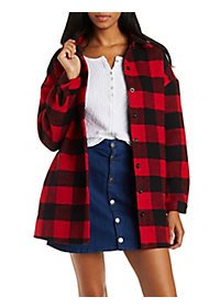 Button-Up Fleece Jacket