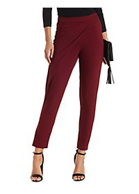 Draped & Tapered Wrap Trouser