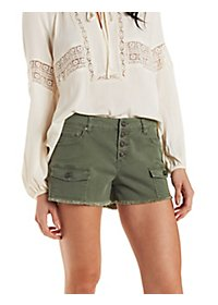 Refuge High-Waisted Shorts