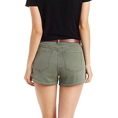 Refuge High-Rise Denim Shorts