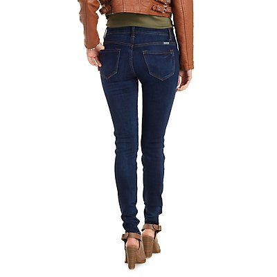 Kan Can Dark Wash Skinny Jeans
