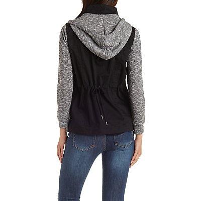 Fleece Anorak Jacket