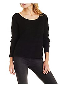 Slouchy Boat Neck Pullover Sweater