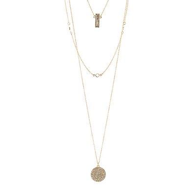 Embellished Layered Necklace
