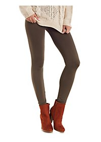 High-Waisted Fleece-Lined Leggings