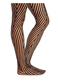 Chevron Open Knit Tights