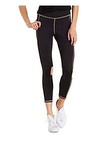 Mesh & Knit Active Leggings