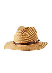 Belted Band Panama Hat