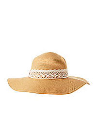 Crochet Band Floppy Hat