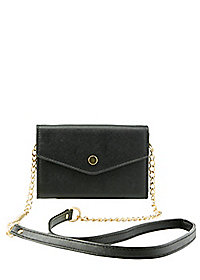 Detachable Strap Snap Wallet