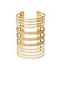 Stacked Cuff Bracelet