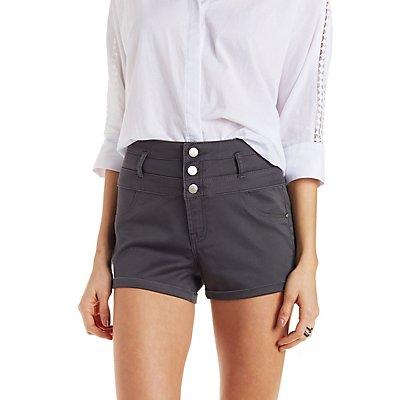 Refuge High-Waisted Denim Shorts