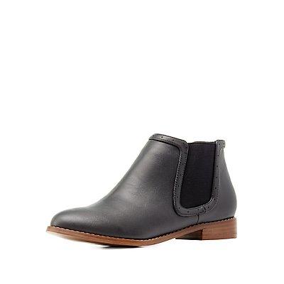 Almond Toe Chelsea Boots
