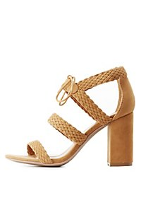 Braided Chunky Sandals