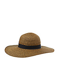 Ribbon Band Floppy Hat