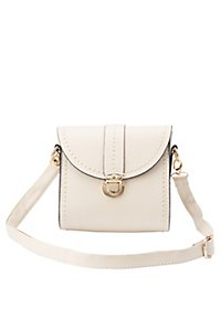 Snap Flap Crossbody Bag