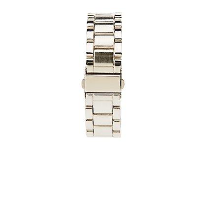 Embellished Oversize Watch
