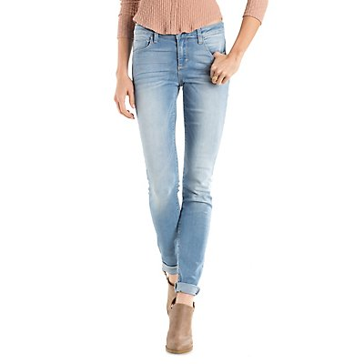 Cello Light Wash Skinny Jeans