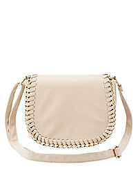 Chain Trim Cross Body Bag