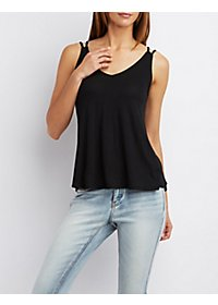 Strappy Trapeze Tank Top
