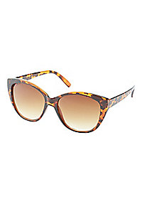 Ombre Tortoise Cat-Eye Sunglasses