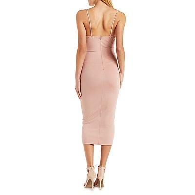 The Vintage Shop Strappy Bodycon Dress