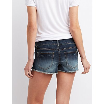 Refuge Shortie Cut-Off Shorts
