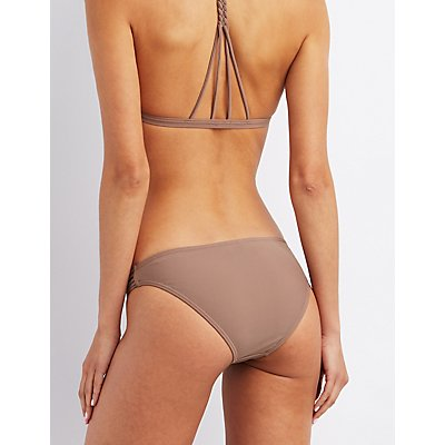Mix & Match Caged Cheeky Bikini Bottoms