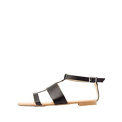 Dollhouse Strappy Buckled Sandals
