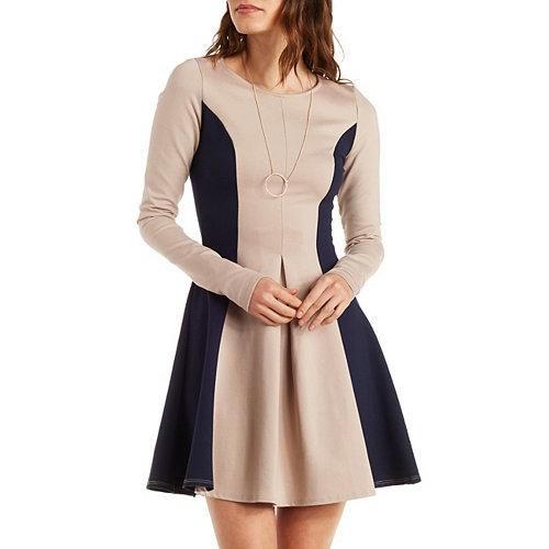 Charlotte Russe Womens A-Line Dress
