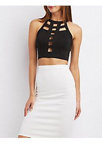Caged Millennium Crop Top