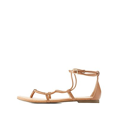 Report Strappy Ankle Buckle Sandals