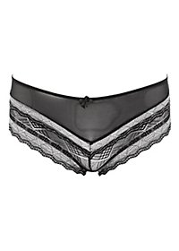 Mesh & Lace Boyshort Panties