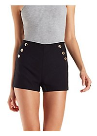 High-Rise Sailor Shorts