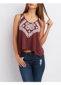 Printed Swing Tank Top