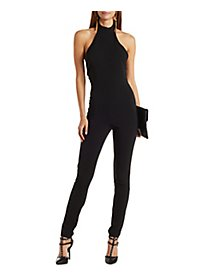 Halter Collar Jumpsuit