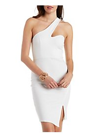 One-Shoulder Bodycon Dress