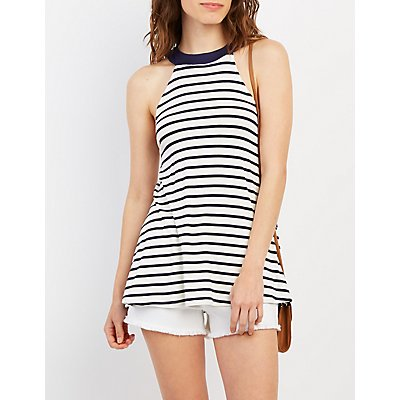 Striped Swing Tank Top