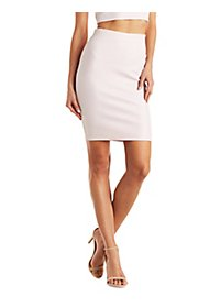 Shimmer Bodycon Skirt
