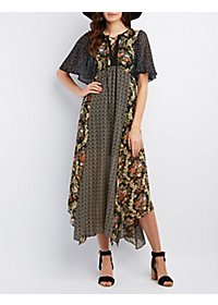 Ark & Co. Multi Print Maxi Dress