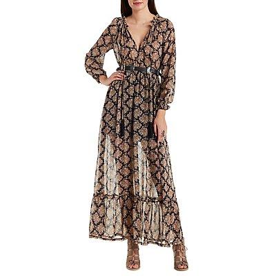Re:Named Boho Print Maxi Dress