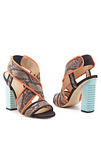 GX by Gwen Stefani Chunky Heel Dress Sandals