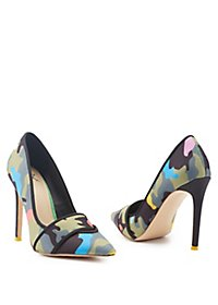 GX by Gwen Stefani Pointed Toe Camo Print Pumps